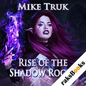Rise of the Shadow Rogue audiobook cover art