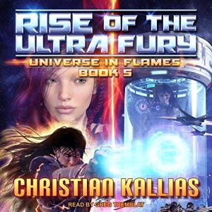 Rise of the Ultra Fury audiobook cover art