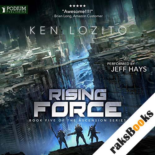 Rising Force audiobook cover art