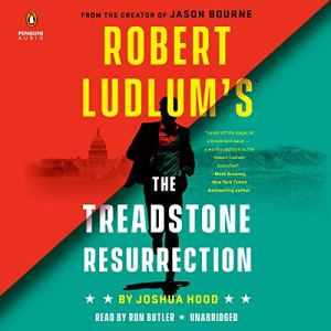 Robert Ludlum's The Treadstone Resurrection audiobook cover art