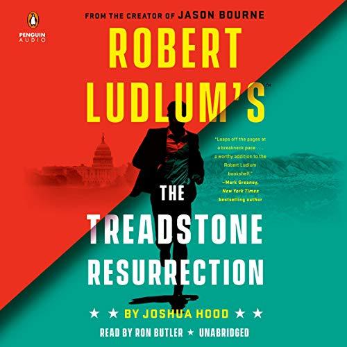 Robert Ludlum's The Treadstone Resurrection audiobook cover art