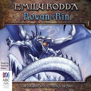 Rowan of Rin audiobook cover art