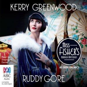 Ruddy Gore audiobook cover art