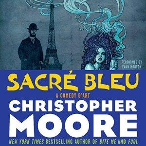 Sacre Bleu audiobook cover art