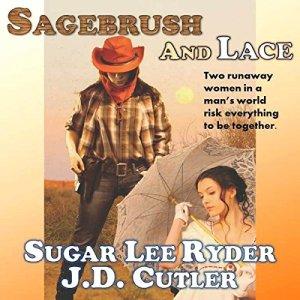 Sagebrush & Lace audiobook cover art