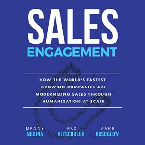 Sales Engagement audiobook cover art