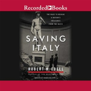 Saving Italy audiobook cover art