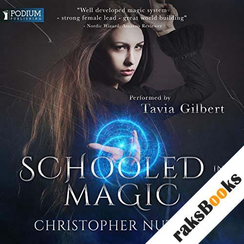 Schooled in Magic audiobook cover art