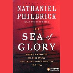 Sea of Glory audiobook cover art