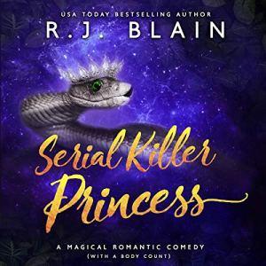 Serial Killer Princess audiobook cover art