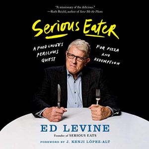 Serious Eater audiobook cover art