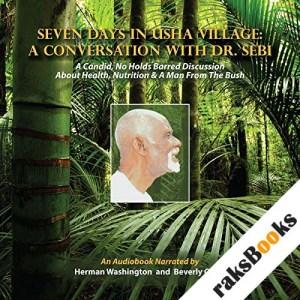 Seven Days in Usha Village audiobook cover art