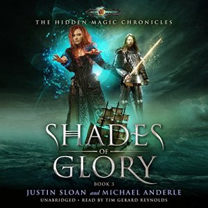 Shades of Glory audiobook cover art