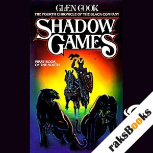 Shadow Games audiobook cover art
