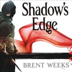 Shadow's Edge audiobook cover art