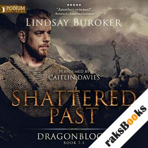 Shattered Past audiobook cover art