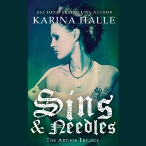 Sins and Needles audiobook cover art