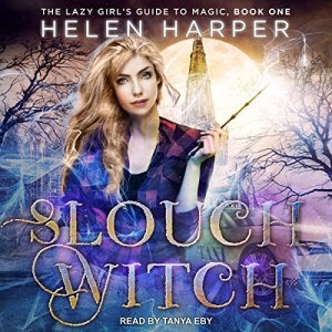 Slouch Witch audiobook cover art