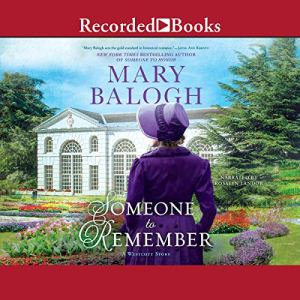 Someone to Remember audiobook cover art