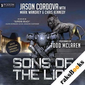 Sons of the Lion audiobook cover art