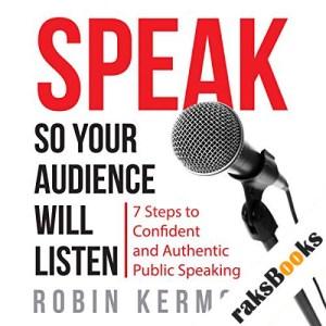 Speak So Your Audience Will Listen audiobook cover art