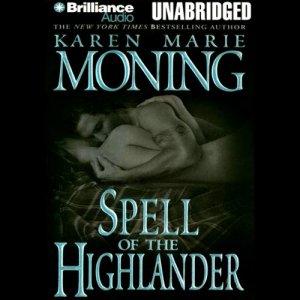 Spell of the Highlander audiobook cover art