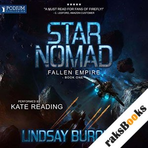 Star Nomad audiobook cover art