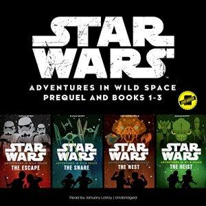 Star Wars: Adventures in Wild Space audiobook cover art