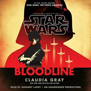Star Wars: Bloodline - New Republic audiobook cover art