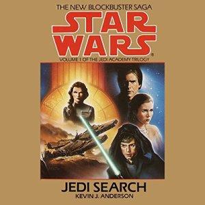 Star Wars: The Jedi Academy Trilogy, Volume 1: Jedi Search audiobook cover art