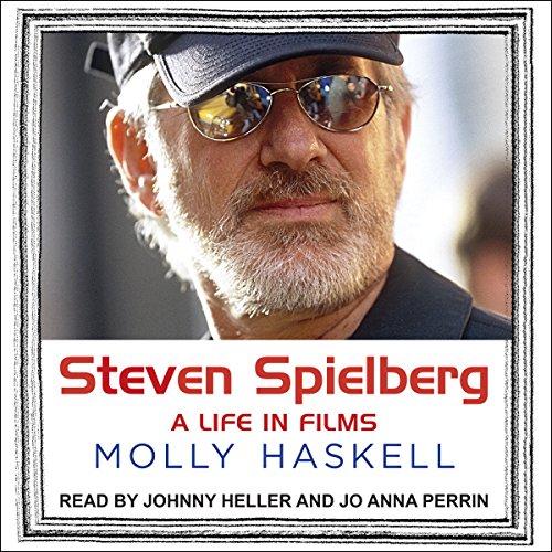 Steven Spielberg audiobook cover art
