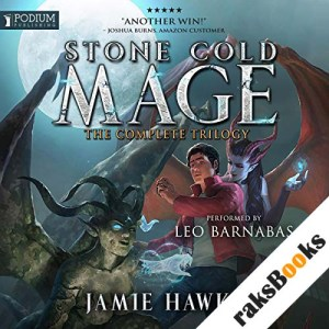 Stone Cold Mage: The Complete Trilogy audiobook cover art