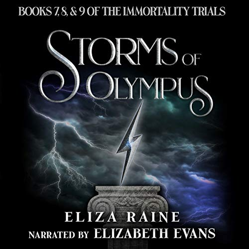 Storms of Olympus: Books Seven, Eight, & Nine audiobook cover art