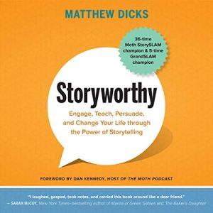 Storyworthy audiobook cover art