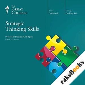 Strategic Thinking Skills audiobook cover art