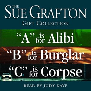Sue Grafton ABC Gift Collection audiobook cover art