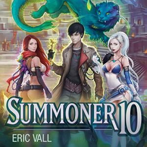 Summoner 10 audiobook cover art