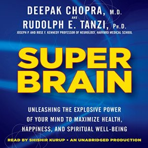 Super Brain audiobook cover art