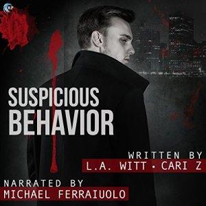 Suspicious Behavior audiobook cover art