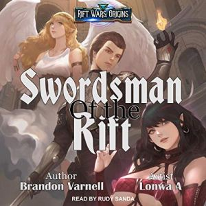 Swordsman of the Rift audiobook cover art