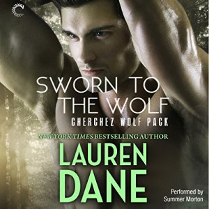 Sworn to the Wolf audiobook cover art