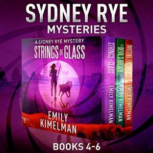 Sydney Rye Mystery Box Set, Books 4-6 audiobook cover art