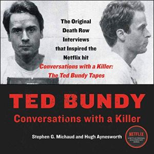 Ted Bundy audiobook cover art