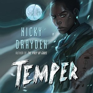 Temper audiobook cover art