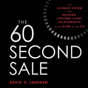 The 60 Second Sale audiobook cover art