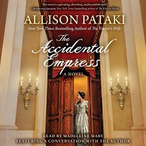 The Accidental Empress audiobook cover art