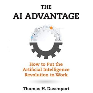 The AI Advantage audiobook cover art