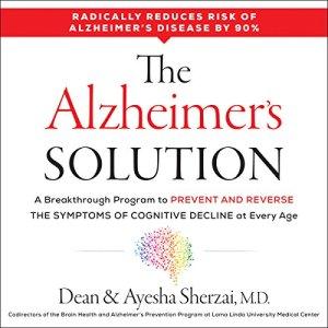 The Alzheimer's Solution audiobook cover art