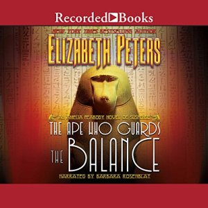 The Ape Who Guards the Balance audiobook cover art