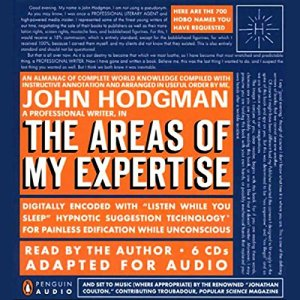 The Areas of My Expertise audiobook cover art